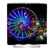 Florida State Fair Pano Work E Shower Curtain