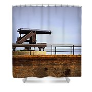 Ft Gaines - Cannon Shower Curtain