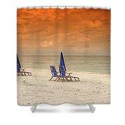 Ft. Myers Beach Shower Curtain