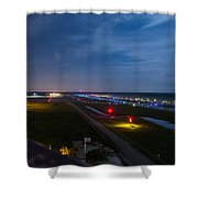 Ft. Myers Runway Shower Curtain