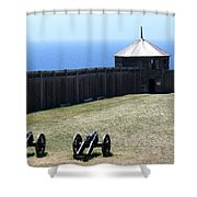 Ft. Ross State Historic Park Shower Curtain