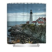 Ft. Williams Lighthouse Shower Curtain