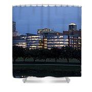 Ft. Worth Texas Skyline Shower Curtain