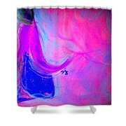 Fuchsia Breeze Shower Curtain