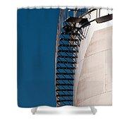 Fuel Storage Tank 03 Shower Curtain