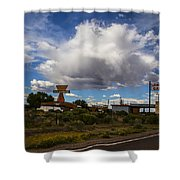 Fuel Up Shower Curtain