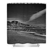 Fuengirola Beach Shower Curtain