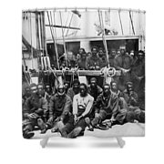 Fugitive Slaves, 1862 Shower Curtain