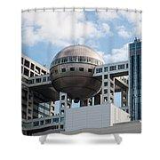 Fuji T.v Headquarters Shower Curtain