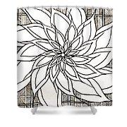 Full Bloom Iv  Shower Curtain