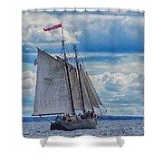 Full Boat Shower Curtain