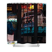 Full Color Reflections Shower Curtain