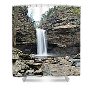 Full Flowing Shower Curtain