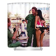 Full Metal Jacket 2 Shower Curtain