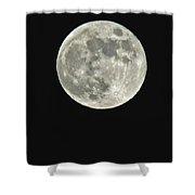 Full Moon II Shower Curtain