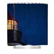 Full Moon On Quoddy No 2 Shower Curtain