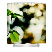 Full Of Life 9 Shower Curtain