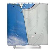 Full Sails Shower Curtain