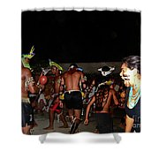 Fulnio Indians Of Brazil  Shower Curtain