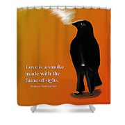 Fume Of Sighs - Williams Shakespeare Shower Curtain
