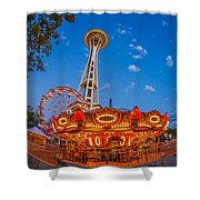 Fun Forest Now That Looks Fun Shower Curtain