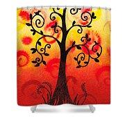 Fun Tree Of Life Impression IIi Shower Curtain