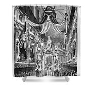 Funeral Dauphine, 1746 Shower Curtain