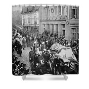 Funeral Of Queen Victoria Shower Curtain