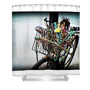 Funky Ride Shower Curtain