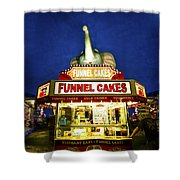 Funnel Cakes Shower Curtain