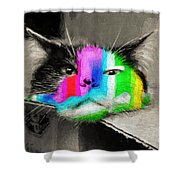 Funny Face Shower Curtain by Andee Design