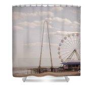 Funtown Pier Shower Curtain