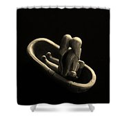 Fur Traders Shower Curtain