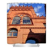 Furness Library Shower Curtain