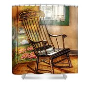 Furniture - Chair - The Rocking Chair Shower Curtain