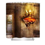 Furniture - Lamp - Kerosene Lamp Shower Curtain