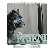 Furry Friends Shower Curtain