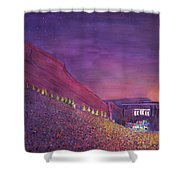 Furthur Red Rocks Equinox Shower Curtain