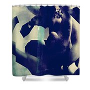 Fury Of Faith Shower Curtain