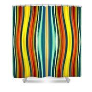 Fury Pattern 1 Shower Curtain