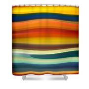 Fury Sea 1 Shower Curtain