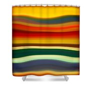 Fury Sea 2 Shower Curtain by Amy Vangsgard