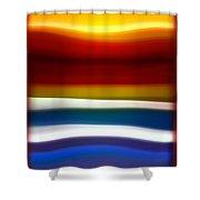 Fury Sea 5 Shower Curtain