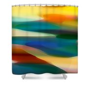 Fury Seascape 1 Shower Curtain by Amy Vangsgard