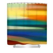 Fury Seascape II Shower Curtain