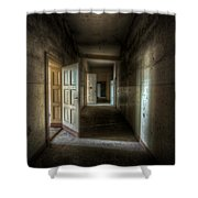 Fuse Box Shower Curtain