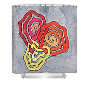 Fusion Of Colors Shower Curtain