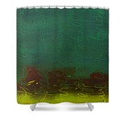 Right Now Shower Curtain