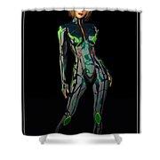 Future Woman... Shower Curtain