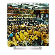 Futures And Options Traders Chicago Shower Curtain
